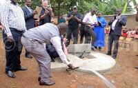 UNAA donates well to Ugandan school