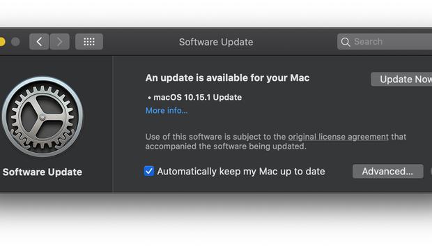 Apple releases macOS 10.15.1 Catalina update