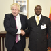 Museveni, Johnson discuss South Sudan, Burundi