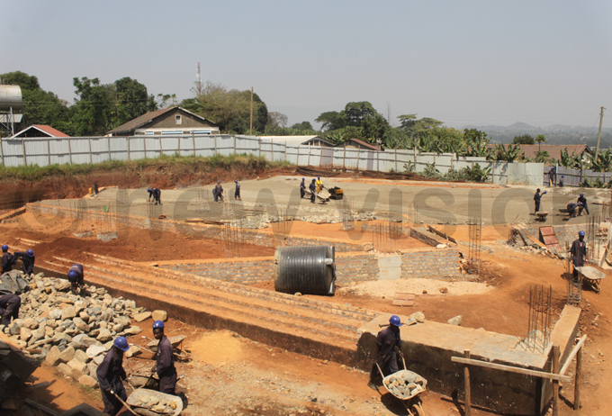 ew chapel which is under construction with support from resident oweri useveni and old girls of the school