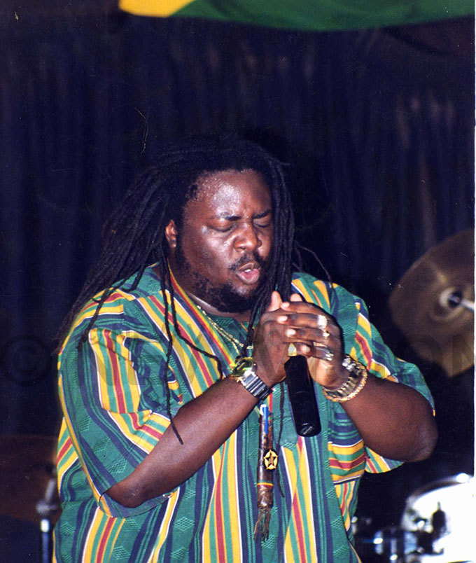 ayanja sings at the launch of a new album at abrinas ub 29999
