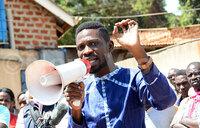 Bobi Wine calls for calm over impending eviction