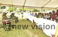 President explains purpose of the Galamba-Bireembo Trek