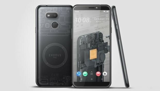 HTC launches a cheaper blockchain phone