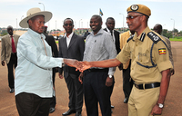 Museveni speaks out on Kayihura USA sanctions