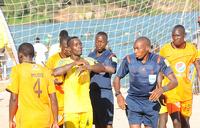 Nkumba University crowned beach soccer champions