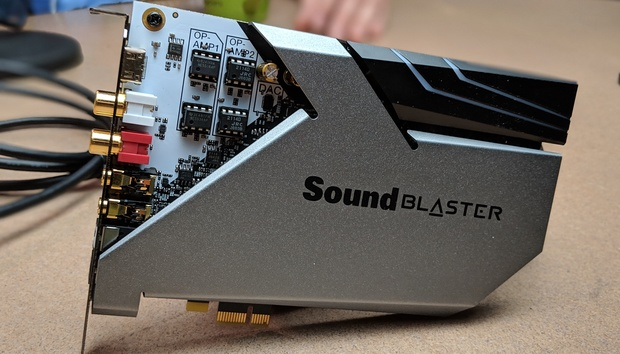 Exclusive first look: Creative Labs' high-end Sound BlasterX AE-9 breaks cover