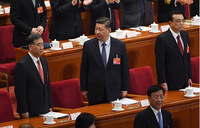 China cuts taxes, sees 'tough struggle' as growth slows