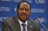 Defiant Odinga vows not to back down