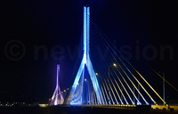 New bridge lights up Jinja sky ahead of commissioning