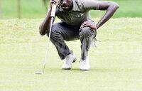 Denis Anguyo wins Kakira Golf Open
