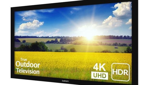 SunBriteTV's outdoor Pro 2 Series 4K HDR TV is designed to weather the elements