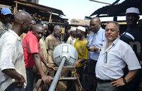 Kirinya road gets solar lights worth sh20m