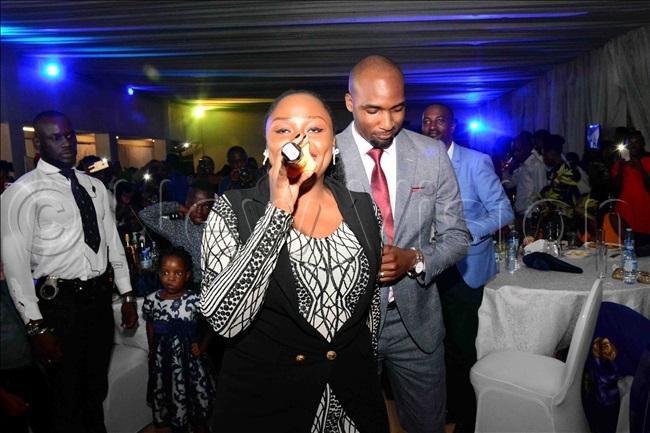 ema at the party with sebunya
