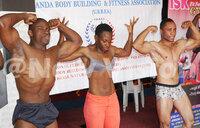 Body building championship for November 19