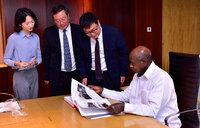 Museveni meets Chinese investors