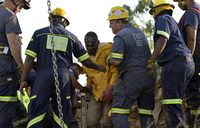All trapped S.African miners rescued