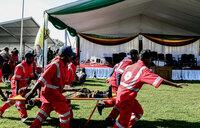 Zimbabwe vote 'will go ahead' despite rally attack
