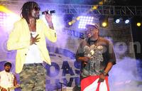 Revelers enjoy reggae music at Roast and Rhyme