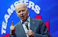 Feisty Biden clings to top spot in 2020 Democratic race