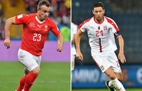 Serbia take on Switzerland with Brazil looming