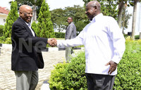 Museveni meets chairperson of South Sudan conflict resolution
