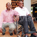 Wamono saved his twin brother from a fire