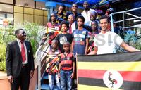 Uganda's motocross team to Botswana flagged off