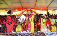 Uganda Martyrs University Nkozi (UMU) holds 25th graduation ceremony