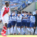Arsenal rocked by late Brighton winner, Watford rescue draw