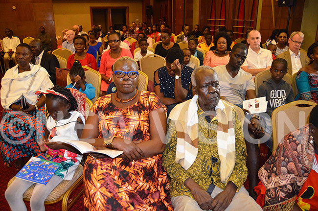 crosssection of the audience during the concert