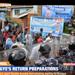 Besigye procession