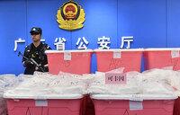 China seizes record 1.3 tonnes of cocaine
