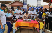 Unimoni celebrates Christmas at Sanyu babies home