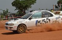 Kansiime stuns favourites to win Jinja Rally