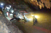 """How the Thai cave rescue of the """"Wild Boars"""" unfolded"""