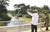 Get out of wetlands, river banks to avert disaster - Museveni