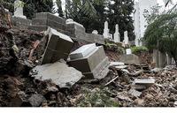 Beirut flood waters sweep away Jewish graves