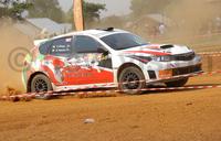 Uganda's Alwi finishes third in Rwanda Rally