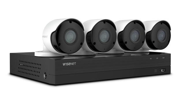 Wisenet 8-channel, 4-camera 5MP DVR Kit review: Wired, multi-camera security