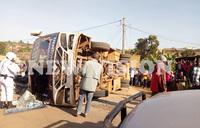 16 injured in Rukungiri bus accident