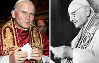 Historic two-pope sainthood for April 2014