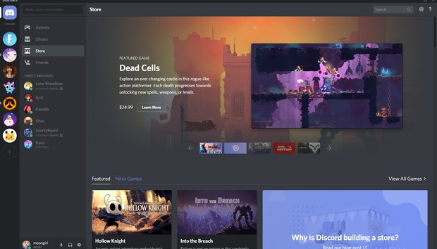 Watch out, Steam? Discord's Store and Nitro game subscription launches worldwide