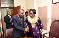 Kadaga castigates the executive for not implementing  laws
