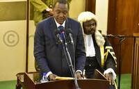 Kenyatta hails Uganda-Kenya ties