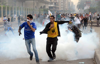 Child killed in clashes in Egypt's Suez city