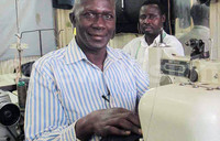 Matovu, the man behind Papal Knights uniforms