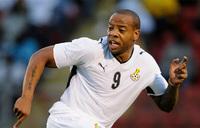 Former Ghana striker Agogo dies at 40