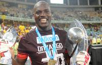 Cranes captain Onyango named on CAF awards shortlist