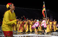 In pictures: Glitzy Commonwealth Games opening ceremony